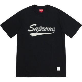 Supreme - Supreme Intarsia Script S/S Top M Tシャツ