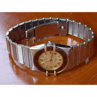 オメガ(OMEGA)の【 本物 】 オメガ  コンステレーション18YG レディース クォーツ(腕時計)