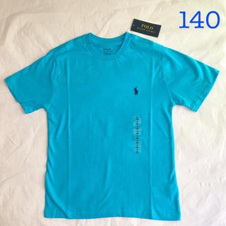 POLO RALPH LAUREN - ラルフローレン コットンクルーネックT ブルー S/140