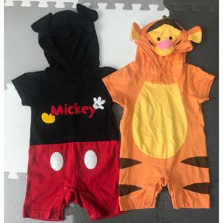 Disney - ロンパース 着ぐるみ ディズニー 80サイズ