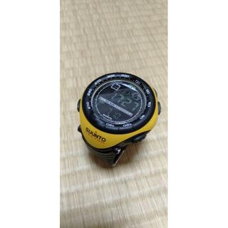 スント(SUUNTO)のsuunto ベクター イエロー(腕時計(デジタル))