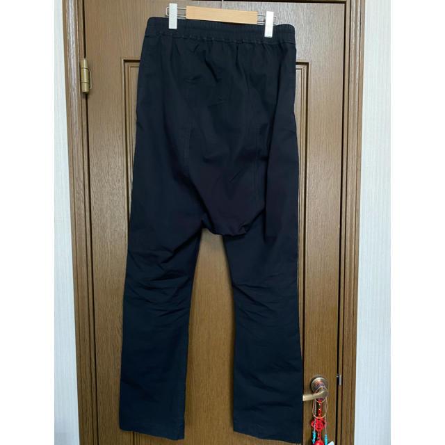 Rick Owens(リックオウエンス)のrick owens サルエルパンツ ブラック メンズのパンツ(サルエルパンツ)の商品写真