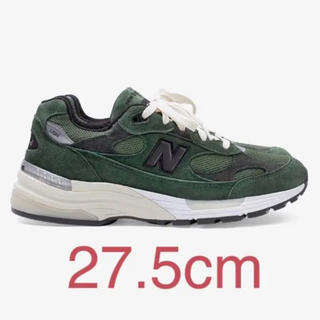 ニューバランス(New Balance)のjjjjound new balance 992 green 27.5cm NB(スニーカー)