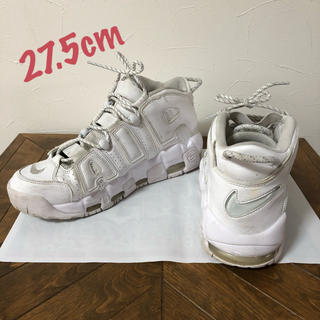 NIKE - NIKE AIR MORE UPTEMPO WHITE モア アップテンポ