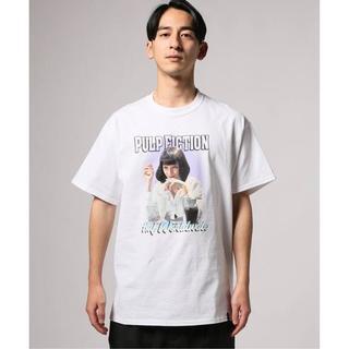 ハフ(HUF)のHUF×PULP FICTION MIA Tシャツ パルプフィクション 白M(Tシャツ/カットソー(半袖/袖なし))