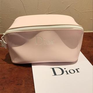 Dior - ディオール Ⅾior ポーチ  ベビーピンク ワイドオープンタイプ コスメ