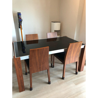 アクタス(ACTUS)のarmoniaダイニングテーブル+椅子4脚(ダイニングテーブル)
