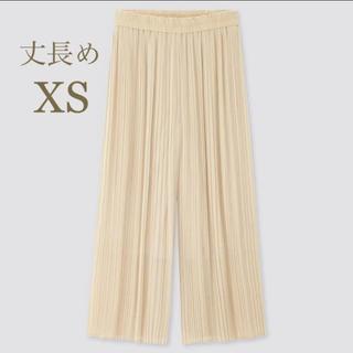 UNIQLO - シフォンプリーツスカートパンツ