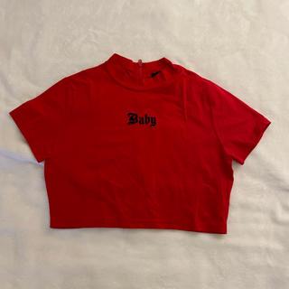 FOREVER 21 - forever21 赤 Tシャツ