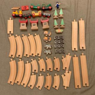 BRIO - BRIO 木製レール 電車セット