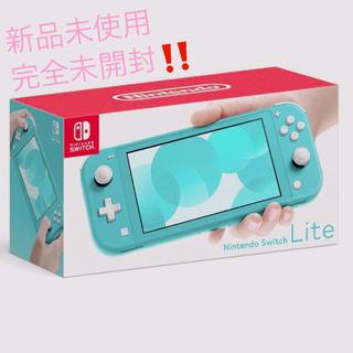 任天堂 - 新品 Nintendo Switch ニンテンドースイッチライト ターコイズ