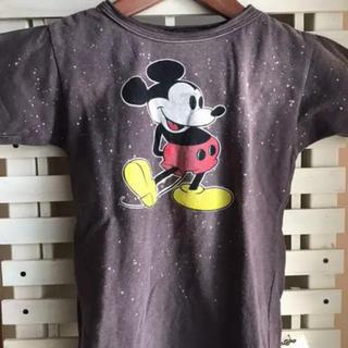 デニムダンガリー(DENIM DUNGAREE)のデニム&ダンガリー ミッキーTシャツ 130(Tシャツ/カットソー)