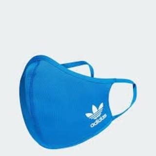 adidas - アディダス フェイスカバー ブルー M-Lサイズ 3枚セット