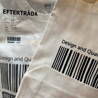 IKEA - IKEA Tシャツ&トートバッグ 限定コレクション 白 S/M