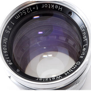 ライカ(LEICA)のLeica HEKTOR L 125mm F2.5 #2746(レンズ(単焦点))