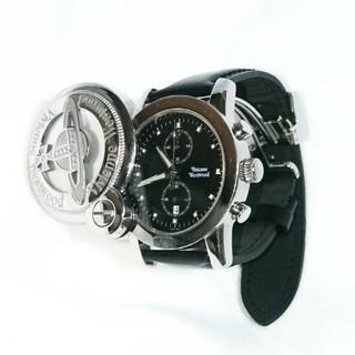 ヴィヴィアンウエストウッド(Vivienne Westwood)のVivienne Westwood MAN/CAGE-Mウォッチ ブラック(腕時計(アナログ))