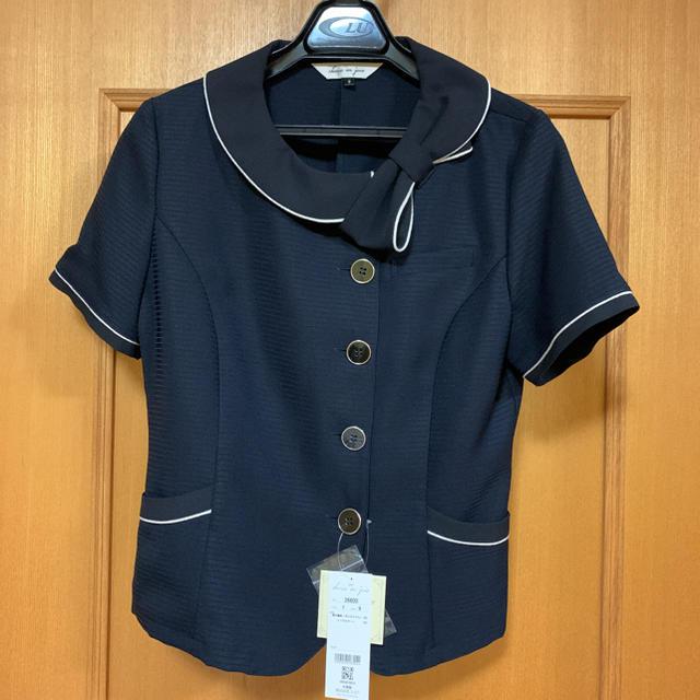 Joie (ファッション)(ジョア)の新品未使用 事務服 オーバーブラウス レディースのトップス(シャツ/ブラウス(半袖/袖なし))の商品写真