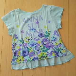 ANNA SUI mini - ANNA SUI mini 花柄 カットソー 120cm
