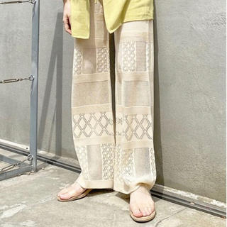 Kastane - kastane レース編みパンツ
