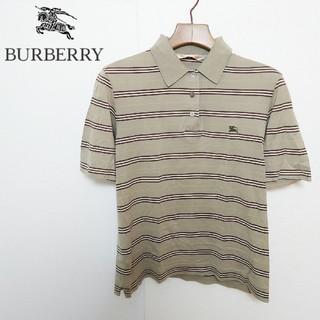バーバリー(BURBERRY)のBURBERRY バーバリー ロゴ刺繍ポロシャツ(ポロシャツ)