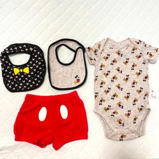 ユニクロ(UNIQLO)のUNIQLO ベビー服ミッキーセット(その他)