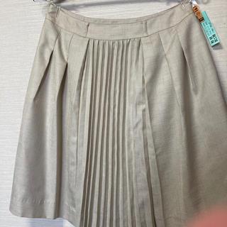 オフオン(OFUON)のOFU ON  プリーツスカート 40(ひざ丈スカート)