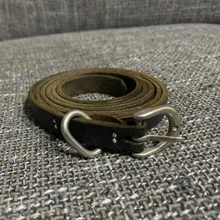 Hender Scheme - Hender Scheme tail belt Black Long