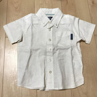 ニシマツヤ(西松屋)のリネン 子供用カットシャツ90(Tシャツ/カットソー)