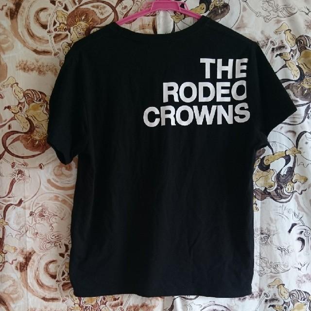 RODEO CROWNS(ロデオクラウンズ)のRODEO👑CROWNのTシャツ レディースのトップス(Tシャツ(半袖/袖なし))の商品写真
