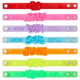 アイコン(iKON)の【いいね禁止】iKON BOBBY バビ リフレクターブレスレット 新品未使用(アイドルグッズ)
