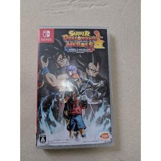 ドラゴンボール(ドラゴンボール)のNINTENDO SWITCHスーパードラゴンボールヒーローズWORLD mis(家庭用ゲームソフト)