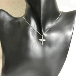 ティファニー(Tiffany & Co.)のティファニー コンケーブクロス ネックレス(ネックレス)