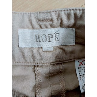 ROPE - 美品♡ROPE  七歩丈パンツ ベージュ
