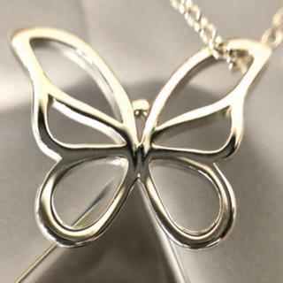 ティファニー(Tiffany & Co.)のティファニー バタフライ ネックレス(ネックレス)