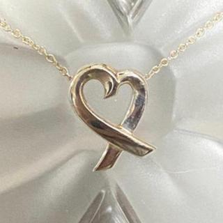 ティファニー(Tiffany & Co.)のティファニー ラヴィングハート ネックレス(ネックレス)