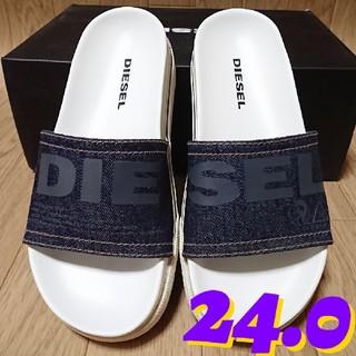 ディーゼル(DIESEL)の【24.0】 DIESEL SA-GRAND SLIDE W サンダル(サンダル)