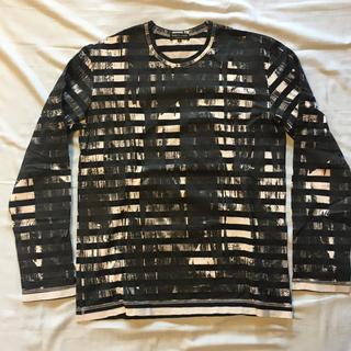 コムデギャルソンオムプリュス(COMME des GARCONS HOMME PLUS)の新品 コムデギャルソン COMME des GARCONS ロング Tシャツ M(Tシャツ/カットソー(七分/長袖))