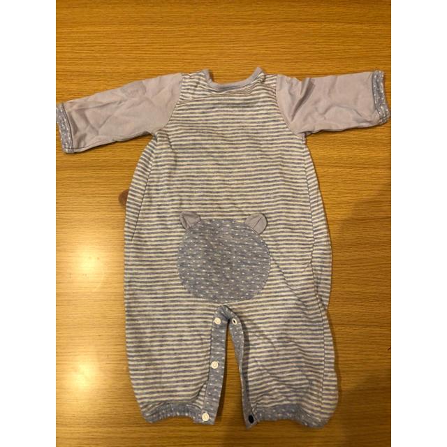 petit main(プティマイン)のプティマイン ロンパース キッズ/ベビー/マタニティのベビー服(~85cm)(ロンパース)の商品写真