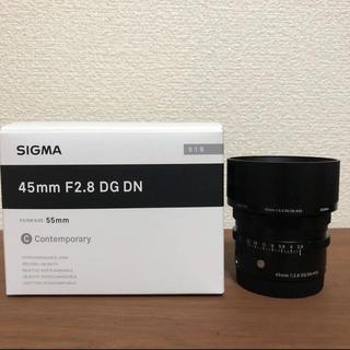 SIGMA - SIGMA 45mm F2.8 DG DN シグマ eマウント