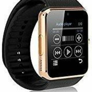 ゴールド スマートウォッチ 腕時計 多機能 Bluetooth 箱なし(腕時計(デジタル))
