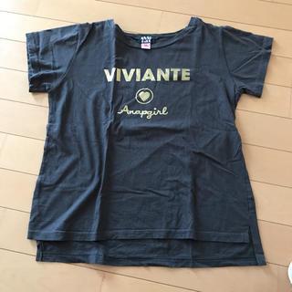 アナップキッズ(ANAP Kids)のアナップガール Tシャツ(Tシャツ/カットソー)