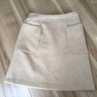 ティアンエクート(TIENS ecoute)の未使用 ティアンエクート ウール ボックススカート(ひざ丈スカート)