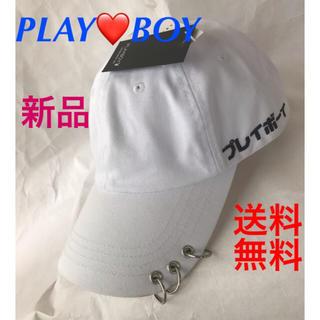プレイボーイ(PLAYBOY)の❣️男女兼用❗️PLAY BOY ツイルキャップ❣️送料込み(キャップ)