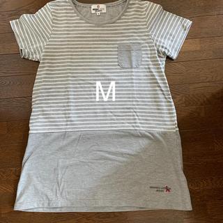 ミチコロンドン(MICHIKO LONDON)のボーダーTシャツ ミチコロンドン チュニック(Tシャツ(半袖/袖なし))
