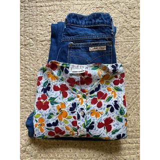 エディットフォールル(EDIT.FOR LULU)のvintage flower blouse(シャツ/ブラウス(半袖/袖なし))