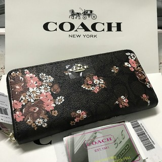 COACH - coach新品未使用 coach コーチ 長財布F31572