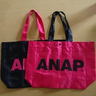 アナップ(ANAP)のANAP エコバッグ 2枚セット(エコバッグ)