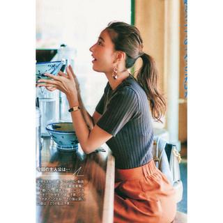 ミラオーウェン(Mila Owen)の雑誌掲載多数ミラオーウェン新品 リブトップス(シャツ/ブラウス(半袖/袖なし))