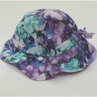 アナスイミニ(ANNA SUI mini)のアナスイミニ ANNA SUI mini 花柄帽子(帽子)