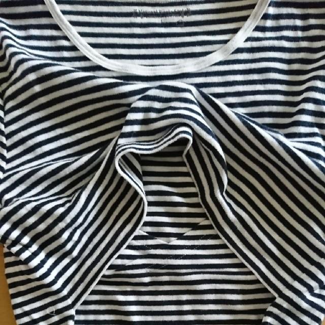 授乳服 Tシャツ L キッズ/ベビー/マタニティのマタニティ(マタニティトップス)の商品写真